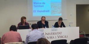 El projecte de la marca pel Vendrell es va presentar a la URV de Terres de l'Ebre.