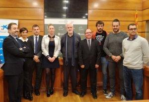 La signatura del conveni s'ha fet a l'Ajuntament del Vendrell.