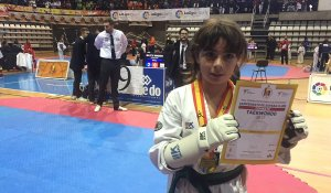 Marina Dorado ha assolit l'or en la categoria infantil.