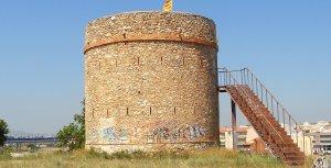 La torre del Botafoc del Vendrell.