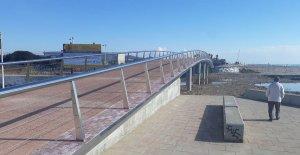 El pont de les Madrigueres ja està acabat, però encara no s'obrirà.