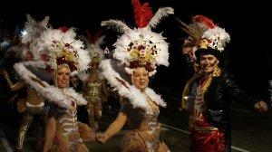 Las Curritas de Cunit han guanyat el primer premi de comparses visitants.