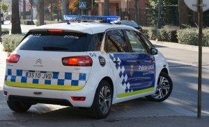 Un cotxe de la policia municipal de Calafell.