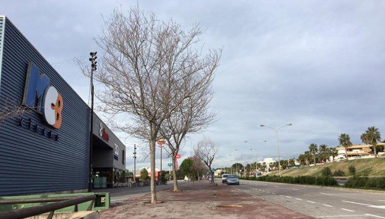 L'àrea de cinemes a Calafell.