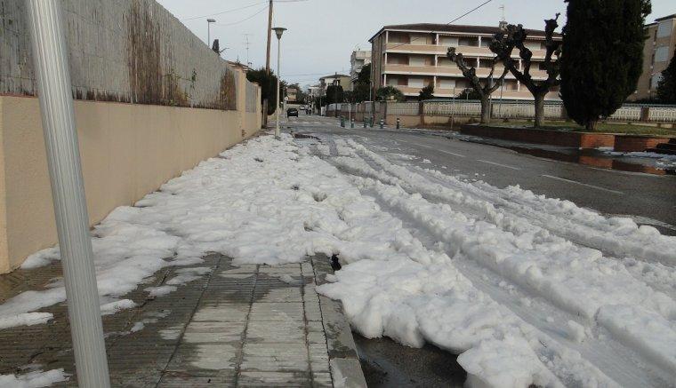 Les precipitacions han estat fortes en alguns punts de Sant Salvador.