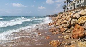 La platja del Francàs va patir l'estiu passat una gran erosió.