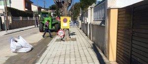 L'Ajuntament repararà 304 trams de voreres a Segur de Calafell.