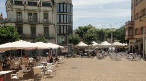 La plaça de Francesc Macià del Vendrell.
