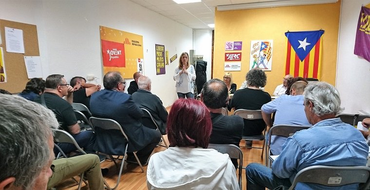 L'Assemblea General d'ERC ha escollit Eva Mata com a alcaldable.