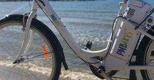 Cunit ofereix un servei de lloguer de bicicletes elèctriques.