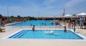 Les noves piscines d'estiu de l'Arboç.