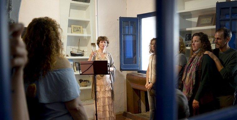 La Casa Barral ha acollit un dels espectacles de l'EVA.