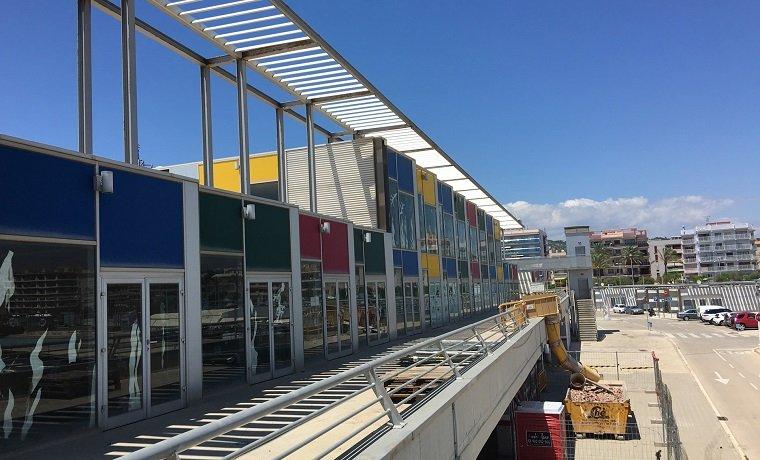 Les obres del centre cívic del Port de Segur.