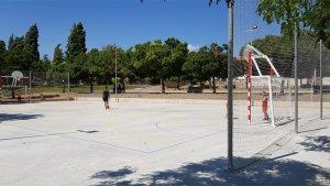 L'Arboç ja compta amb una nova pista esportiva