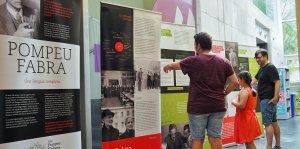 L'exposició sobre Pompeu Fabra arriba a Cunit i l'Arboç.