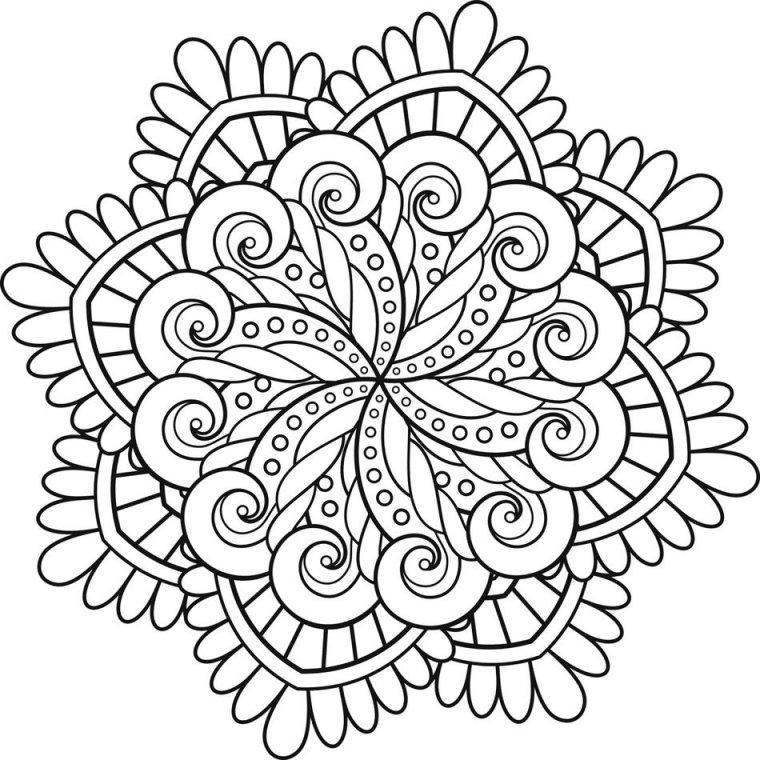 Mandalas: ¿cuál es su significado? 12 imágenes para colorear