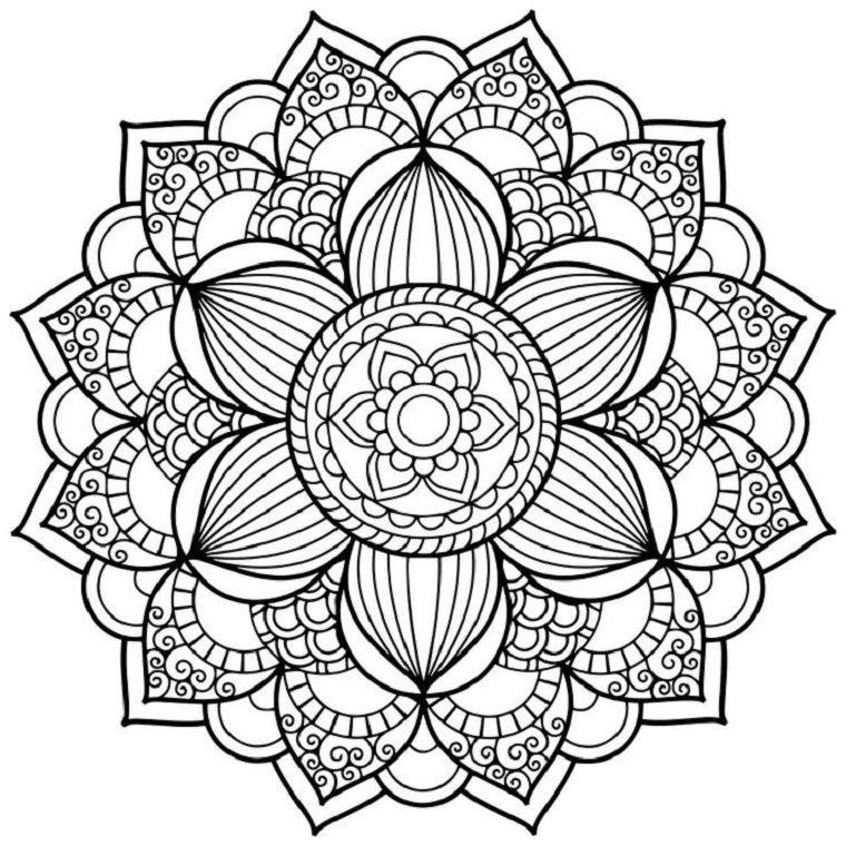 Mandalas Cuál Es Su Significado 12 Imágenes Para Colorear