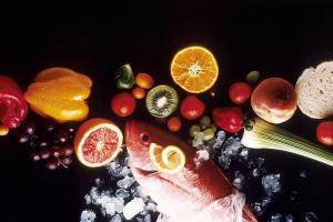 Algunos de los alimentos no procesados