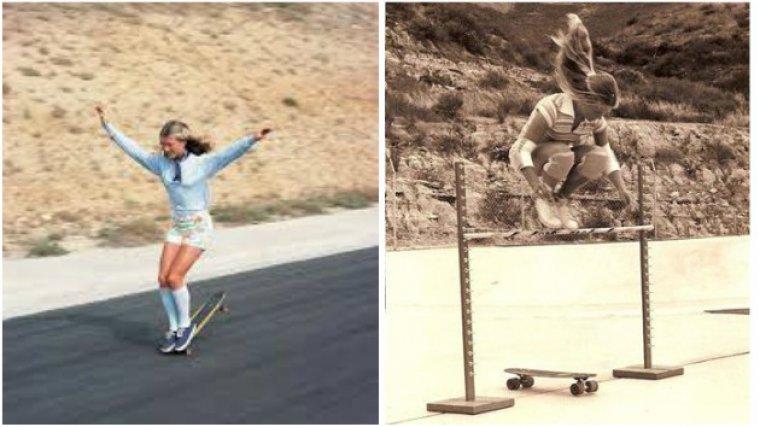 Ellen O'Neal, la primera mujer skater profesional.