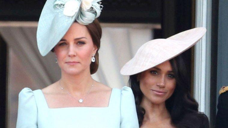 Kate Middleton y Meghan Markle en el tradicional 'Trooping The Colours'