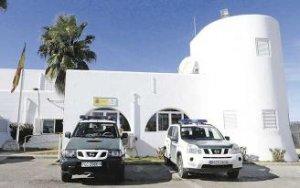 Cuartel de San Antonio en Ibiza donde se produjo la discusión