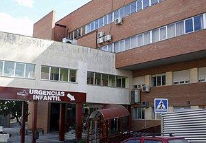 Hospital Virgen de la Arricxaca de Murcia, donde ingresó la niña de 12 años embarazada