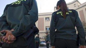 Imagen de archivo de una pareja de guardias civiles