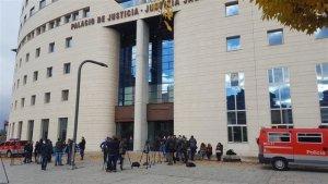 Imagen del Palacio de Justicia, donde la fiscal ha compartido su informe