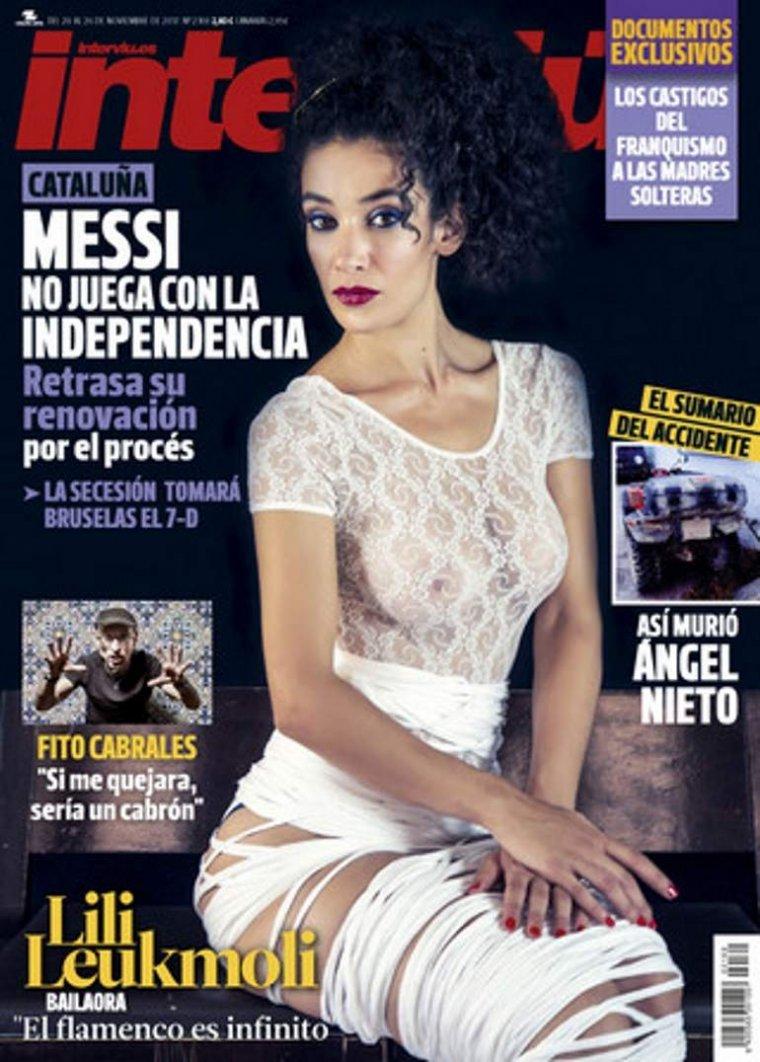 Imagen de la portada de la revista.