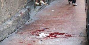 Calle con sangre