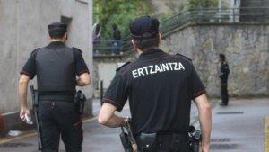 Imagen de archivo de la Ertzaina