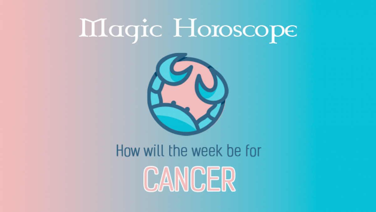 Cancer Weekly Horoscope for 15 - 21 July