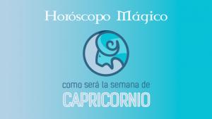 La predicción semanal para Capricornio según los astros