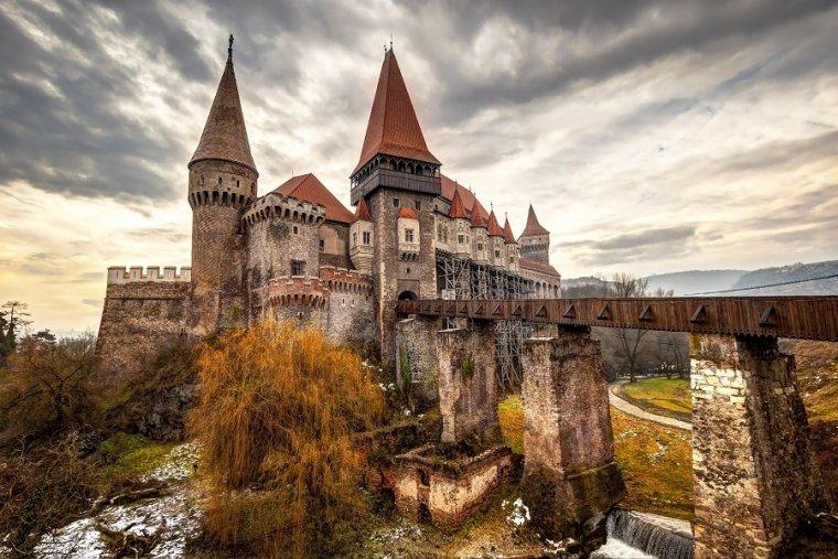El castillo de Drácula en Rumanía