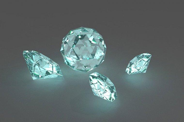 Diamante: significado, propiedades curativas y usos en gemoterapia