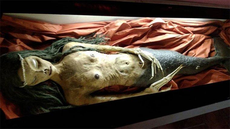 Momia de una sirena en el Museo Lara, en Ronda