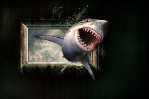 ¿Qué significa soñar con tiburones?