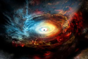 El choque de dos estrellas supergigantes origina los llamados agujeros negros