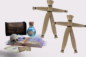 El muñeco Vudú: el símbolo más famoso de la brujería con magia negra