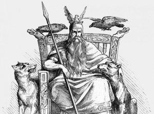 Odin trône mythologie