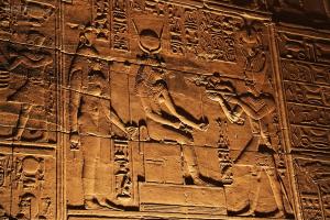 Los jeroglíficos egipcios eran considerados como una escritura sagrada