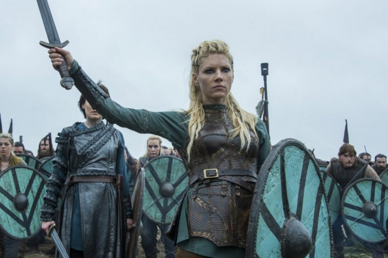 La serie Vikingos (Vikings) protagonizada por Ragnar Lothbrok
