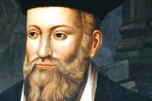 Retrato del profeta Nostradamus