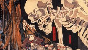 Shinigame es el espíritu de la mitología japonesa que incita a los hombres a la muerte