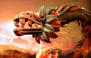 La serpiente emplumada era uno de los dioses más adorados en los pueblos antiguos de América