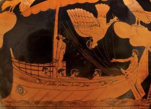 Representación de Odiseo en su regreso a Ítaca