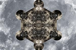 Cube de Métatron figure géométrique sacrée