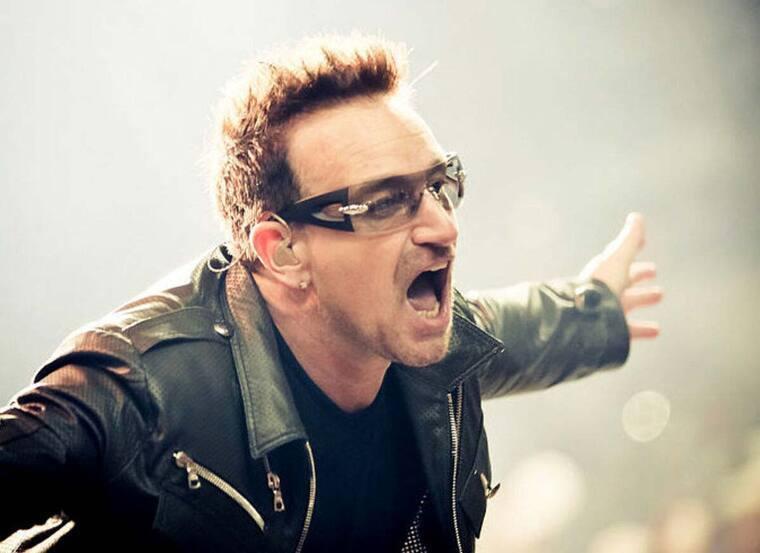 Bono Cantante U2