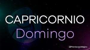 Horóscopo Capricornio Domingo