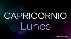 Horóscopo Capricornio Lunes
